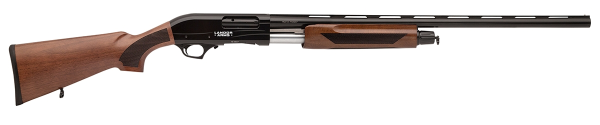 LND-407-12 PUMP ACTION WALNUT